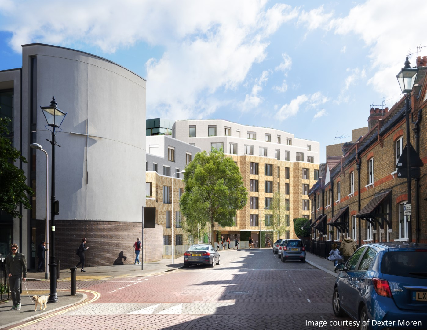 Construction works reach Practical Completion on Ufford Street