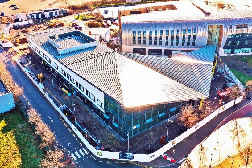 New £9m Advanced Construction Skills Centre achieves practical completion